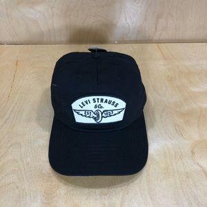 NWT Levis Black Bishop Cap-44LP010060-Orig. $28.00